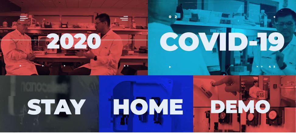 2020 COVID-19 Stay Home Demo